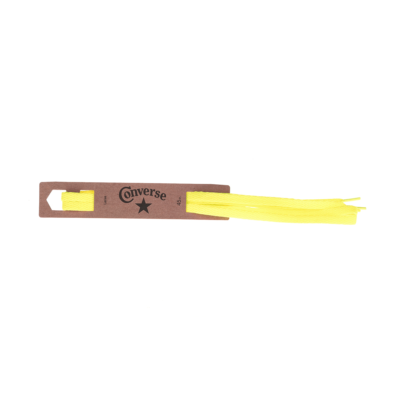 CONVERSE – Κορδόνια CONVERSE κίτρινα