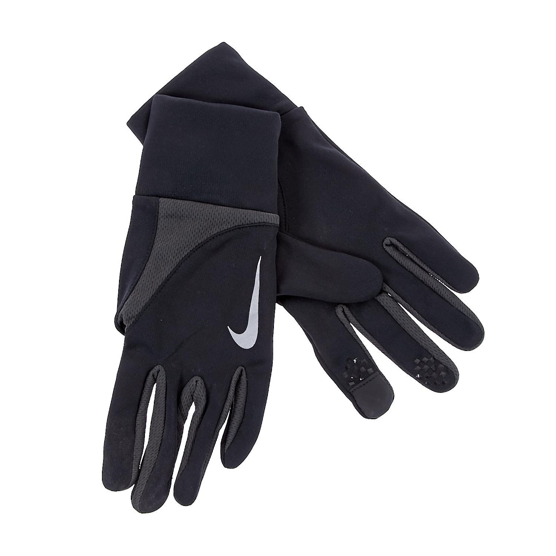 NIKE - Γάντια προπόνησης Nike μαύρα ανδρικά αξεσουάρ φουλάρια κασκόλ γάντια
