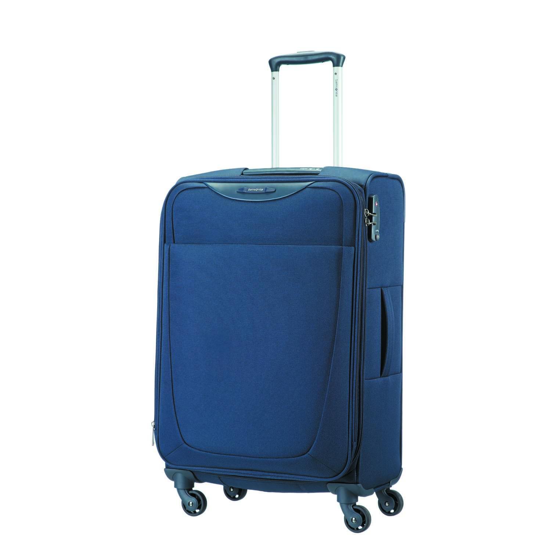 SAMSONITE - Βαλίτσα μεσαίου μεγέθους BASE HITS SPINNER 66/24 μπλε γυναικεία αξεσουάρ είδη ταξιδίου βαλίτσες μεσαίες