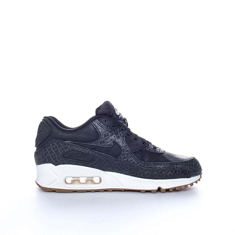 NIKE - Γυναικεία παπούτσια NIKE AIR MAX 90 PREM μαύρα γυναικεία παπούτσια αθλητικά running