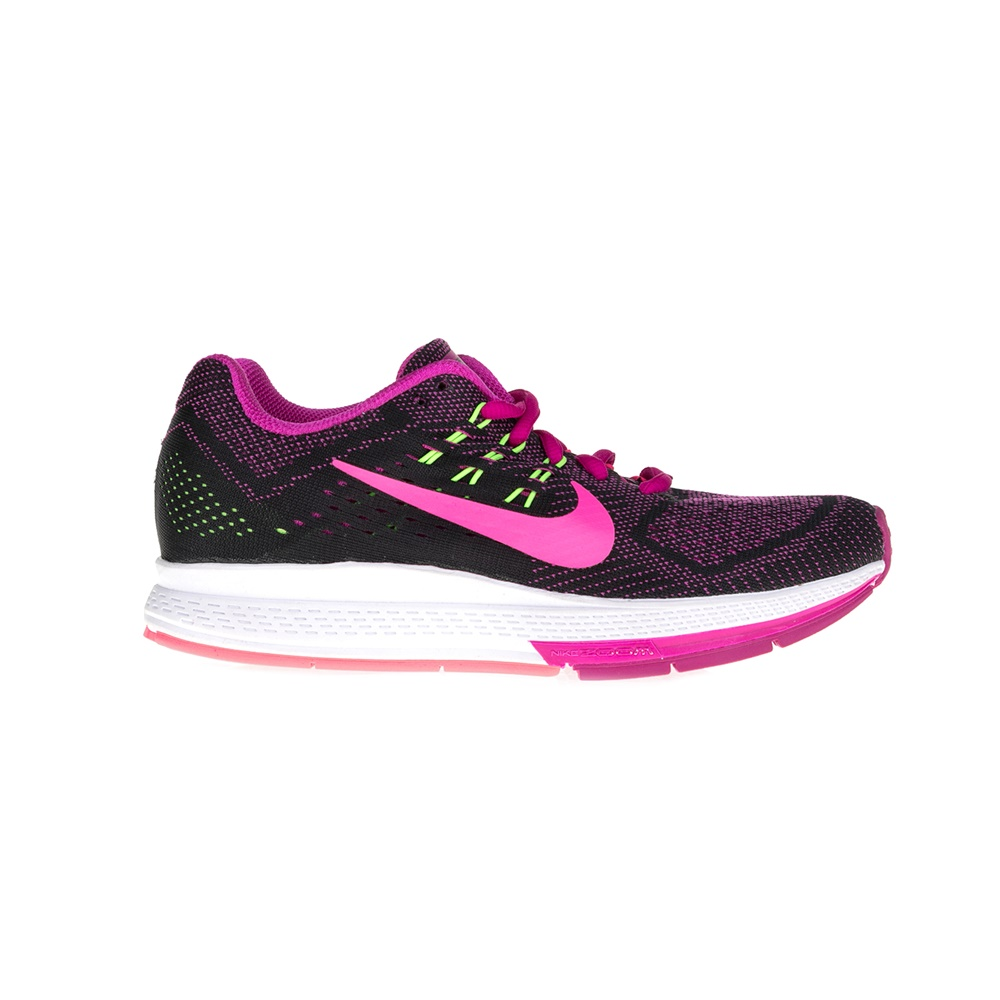 NIKE – Γυναικεία παπούτσια NIKE AIR ZOOM STRUCTURE 18 μαύρα-μωβ