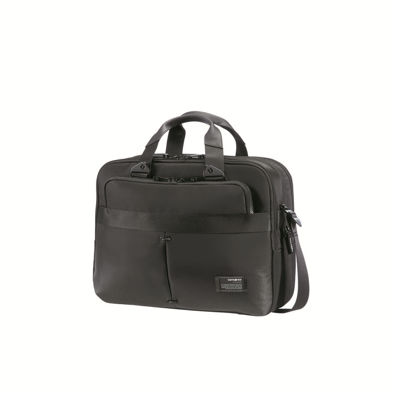 "SAMSONITE - Τσάντα laptop CITYVIBE BAILHANDLE 13-16"" μαύρη ανδρικά αξεσουάρ τσάντες σακίδια χαρτοφύλακες τσάντες laptop"