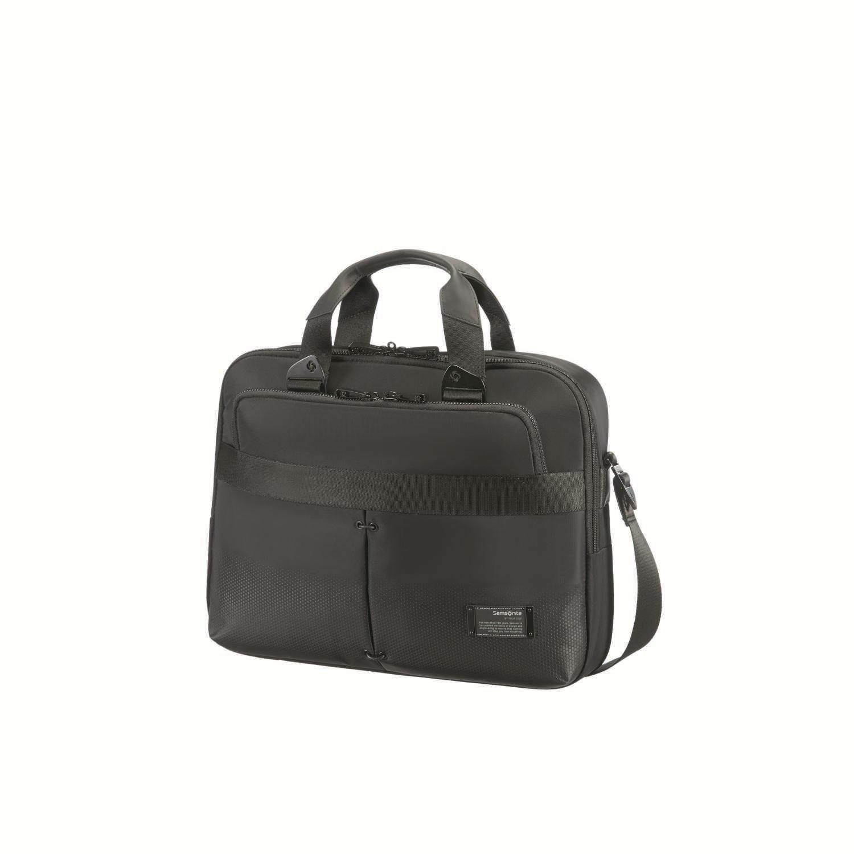 "SAMSONITE - Τσάντα laptop CITYVIBE BAILHANDLE 16"" μαύρη ανδρικά αξεσουάρ τσάντες σακίδια χαρτοφύλακες τσάντες laptop"