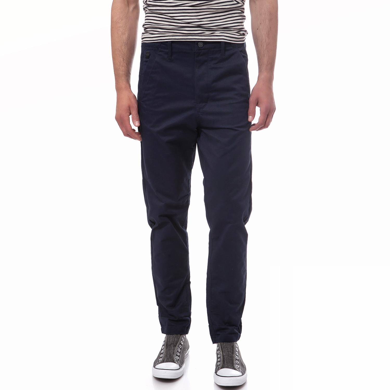 G-STAR RAW - Ανδρικό παντελόνι G-Star Raw μπλε ανδρικά ρούχα παντελόνια ισια γραμή