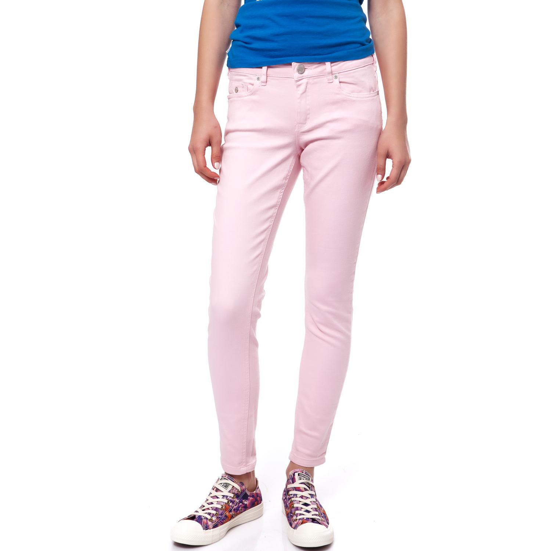 2cdf2fe07475 Γυναικεία   Ρούχα   Παντελόνια   Casual   All Day   Γυναικείο ψηλόμεσο  παντελόνι με τσέπες γκρι So Sexy 41554K - GoldenShopping.gr