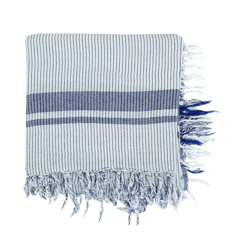SCOTCH & SODA - Γυναικείο φουλάρι Maison Scotch γαλάζιο γυναικεία αξεσουάρ φουλάρια κασκόλ γάντια