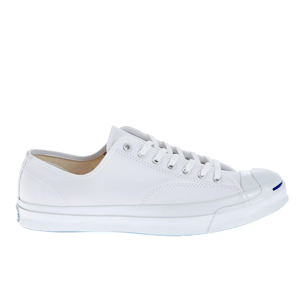 CONVERSE - Unisex παπούτσια Jack Purcell Signature Ox λευκά γυναικεία παπούτσια sneakers