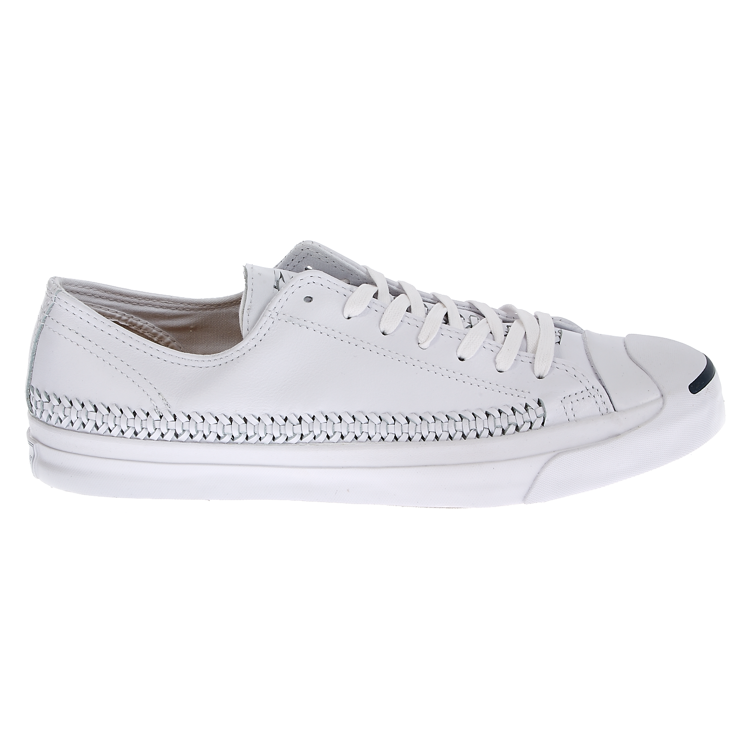 CONVERSE – Unisex παπούτσια Jack Purcell Jack Woven λευκά