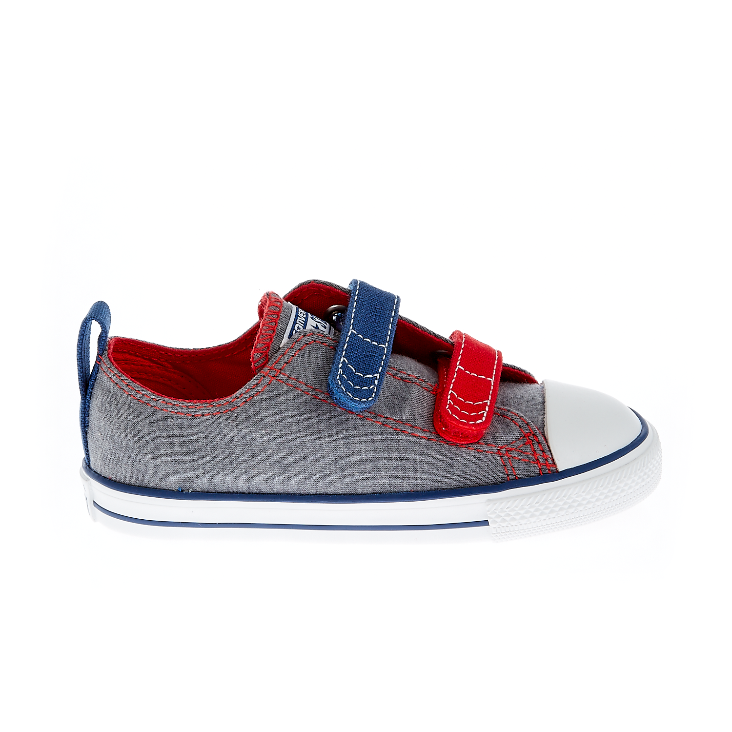 CONVERSE - Βρεφικά παπούτσια Chuck Taylor γκρι παιδικά baby παπούτσια sneakers