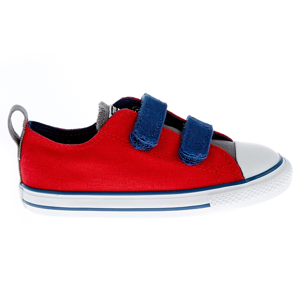 CONVERSE - Βρεφικά παπούτσια Chuck Taylor κόκκινα παιδικά baby παπούτσια sneakers