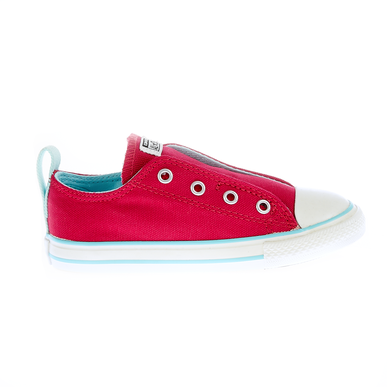 CONVERSE - Βρεφικά παπούτσια Chuck Taylor φούξια παιδικά baby παπούτσια sneakers