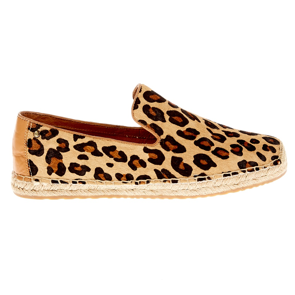 UGG – Γυναικεία slip-on παπούτσια UGG μπεζ-μαύρα