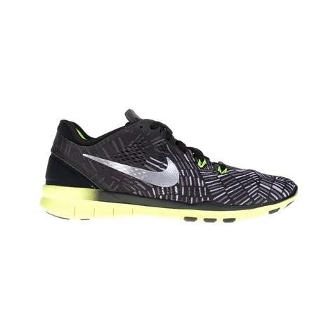 Γυναικεία παπούτσια NIKE FREE 5.0 TR FIT 5 PRT μαύρα-γκρι (1363831.1-7173)   f09194c9443