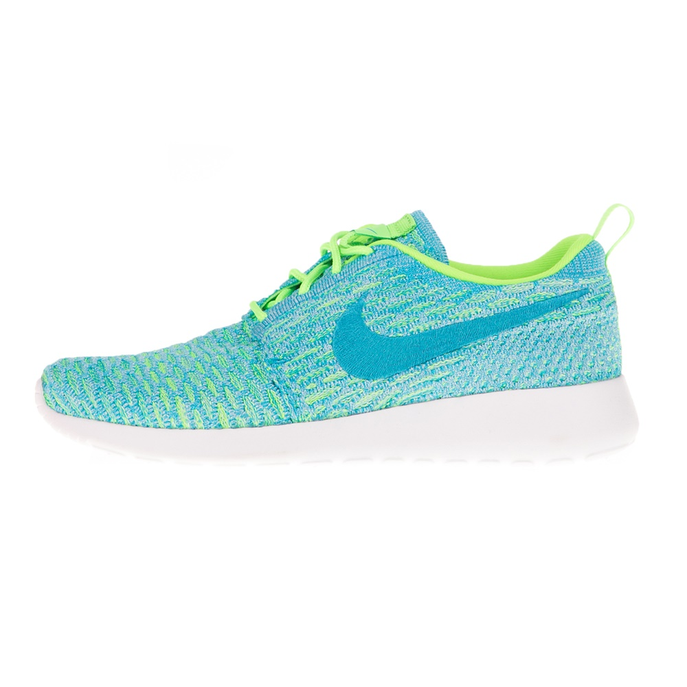 NIKE – Γυναικεία αθλητικά παπούτσια NIKE ROSHE ONE FLYKNIT μπλε πράσινα