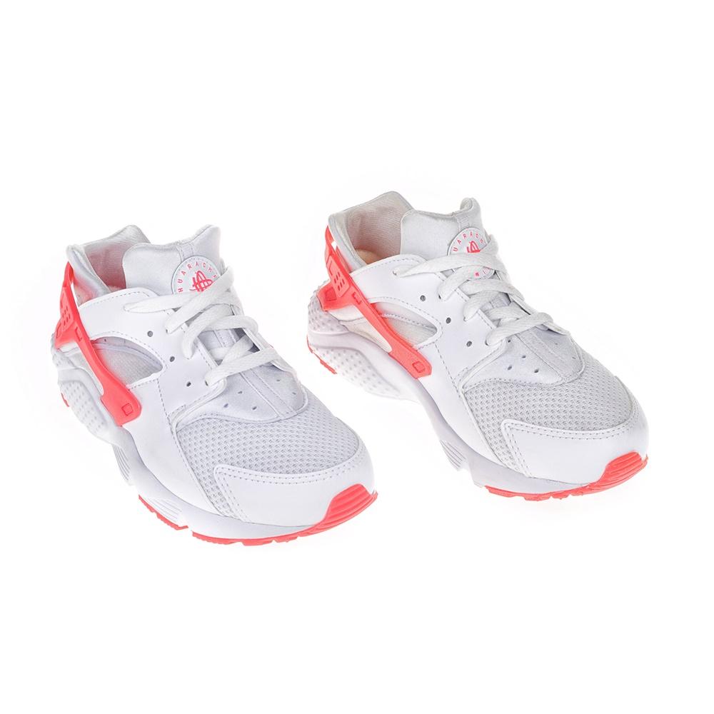 NIKE - Παιδικά αθλητικά παπούτσια NIKE HUARACHE RUN (PS) λευκά - ροζ ... acfec805aae
