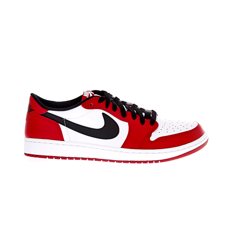 NIKE – Ανδρικά παπούτσια Nike AIR JORDAN 1 RETRO LOW OG λευκά-κόκκινα- ΑΠΟ ΓΚ