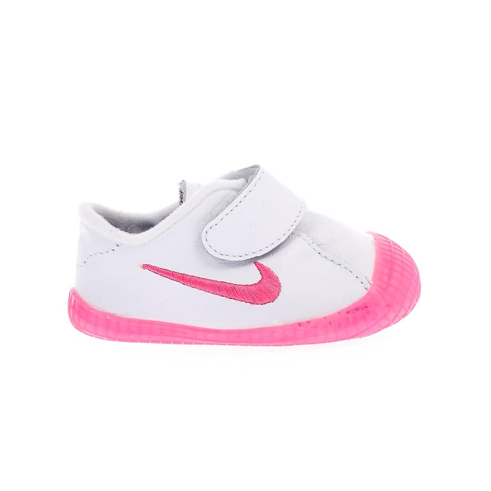 -31% Factory Outlet NIKE – Βρεφικά αθλητικά παπούτσια NIKE WAFFLE 1 λευκά -ροζ e5115ed95cc