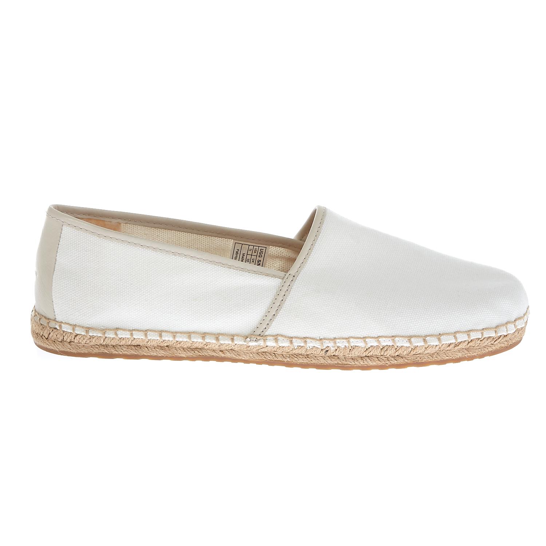 UGG - Ανδρικές εσπαντρίγιες Ugg Australia λευκές ανδρικά παπούτσια μοκασίνια loafers