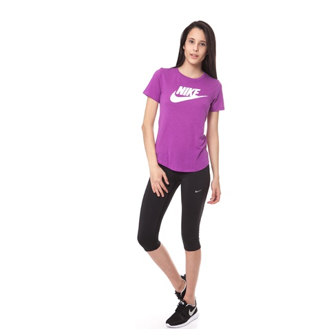 NIKE-Γυναικείο κολάν Nike Tech Capri μαύρο