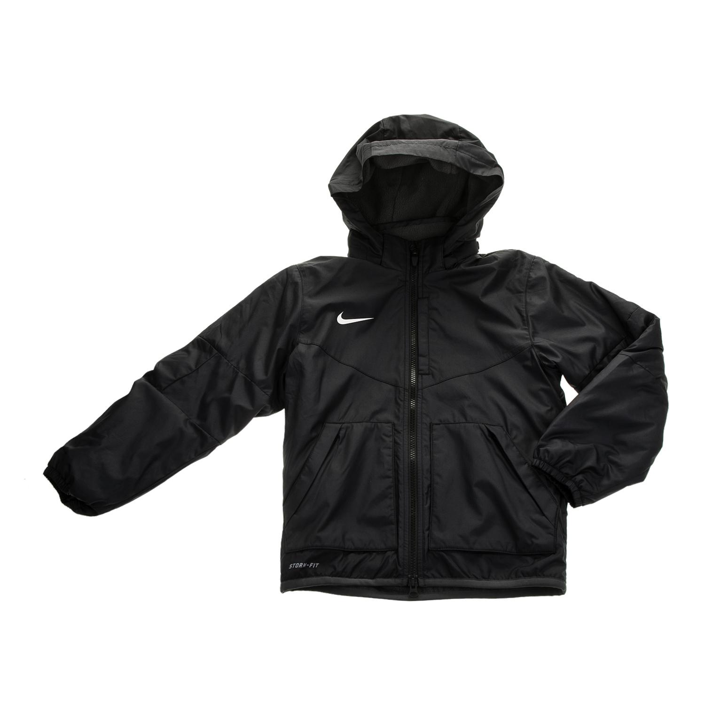 NIKE - Παιδικό μπουφάν NIKE TEAM FALL JACKET μαύρο παιδικά boys ρούχα πανωφόρια