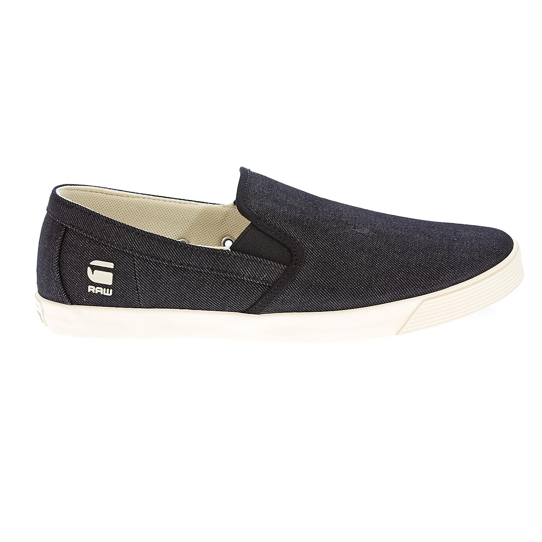 G-STAR RAW - Ανδρικά παπούτσια G-Star Raw μπλε ανδρικά παπούτσια μοκασίνια loafers