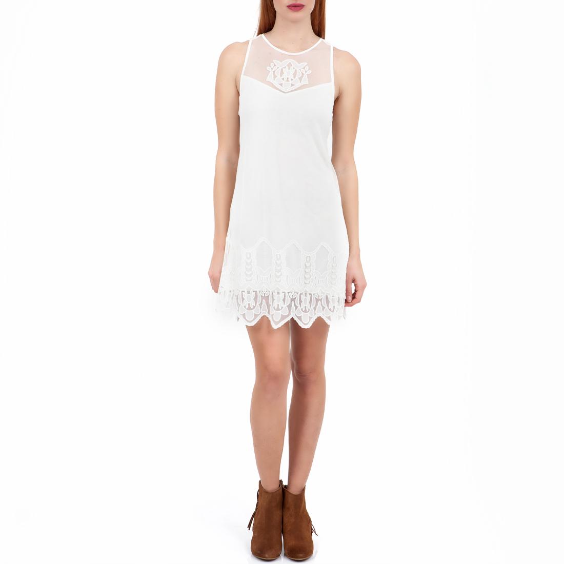 2f1e1f7086fb GUESS – Γυναικείο φόρεμα GUESS λευκό