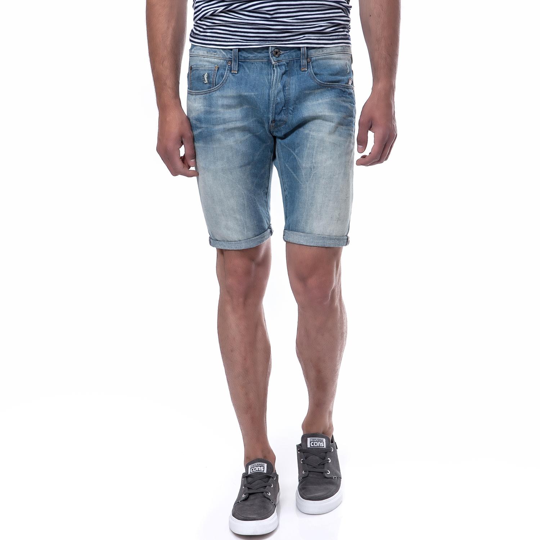 G-STAR RAW - Ανδρική βερμούδα G-Star Raw μπλε ανδρικά ρούχα σορτς βερμούδες casual jean