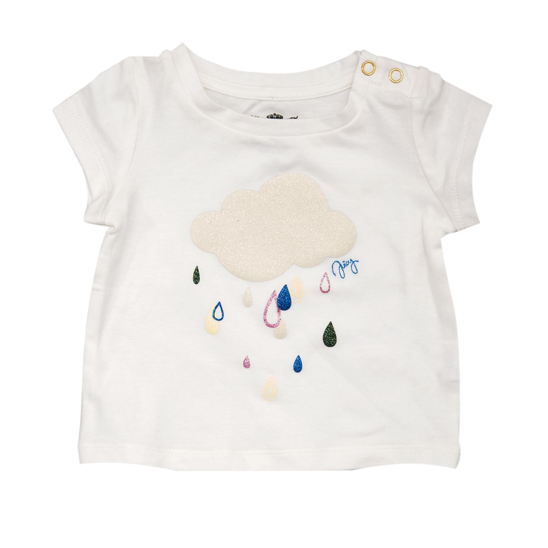 c60c45b1085 Factoryoutlet JUICY COUTURE KIDS - Βρεφική μπλούζα JUICY COUTURE λευκή