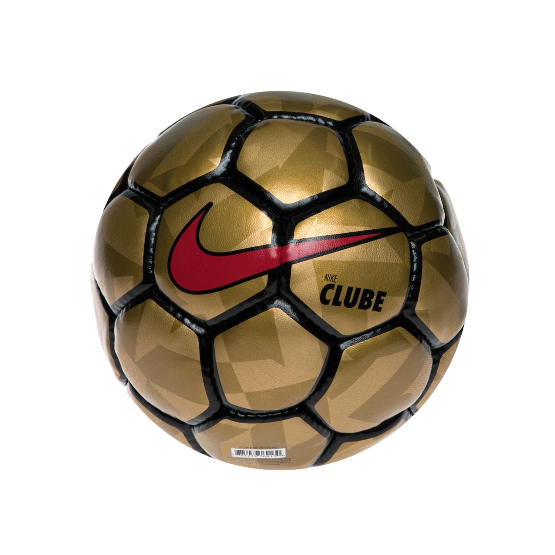 NIKE - Μπάλα ποδοσφαίρου NIKE FOOTBALLX CLUBE χρυσή-μαύρη παιδικά boys αξεσουάρ αθλητικά είδη