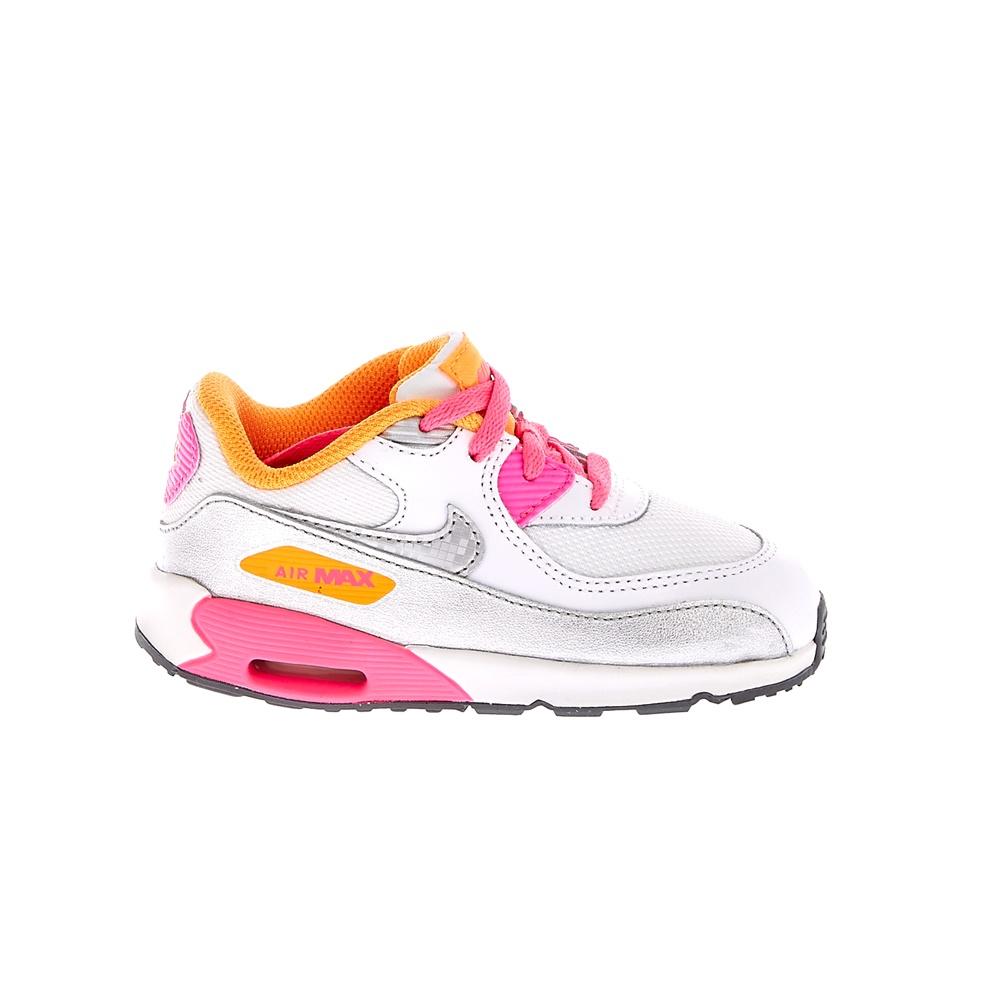 NIKE - Βρεφικά αθλητικά παπούτσια NIKE AIR MAX 90 MESH άσπρα παιδικά baby παπούτσια αθλητικά