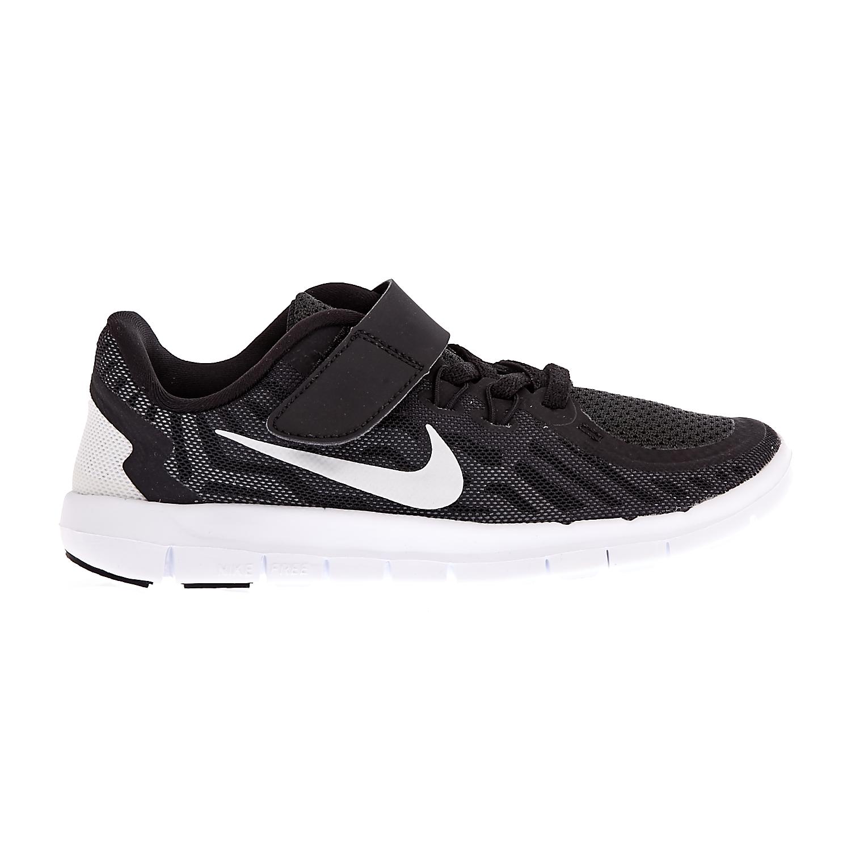 NIKE – Παιδικά αθλητικά παπούτσια NIKE FREE 5.0 μαύρα