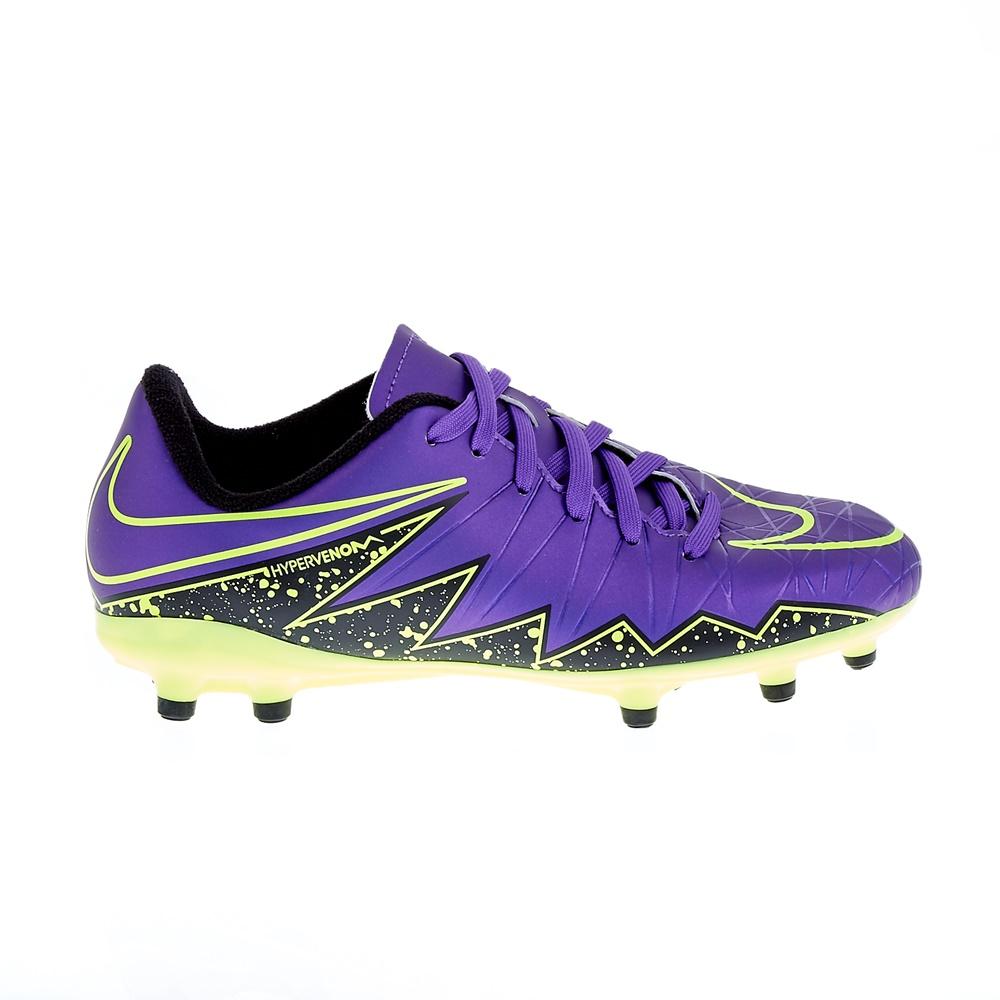 NIKE - Παιδικά παπούτσια Nike JR HYPERVENOM PHELON II FG μοβ παιδικά boys παπούτσια ποδοσφαιρικά
