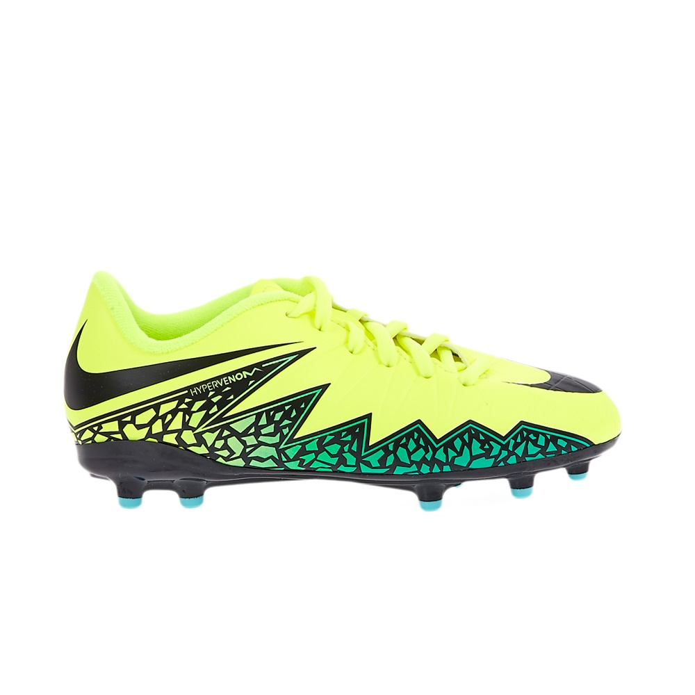 NIKE - Παιδικά αθλητικά παπούτσια NIKE JR HYPERVENOM PHELON II κίτρινα παιδικά boys παπούτσια ποδοσφαιρικά