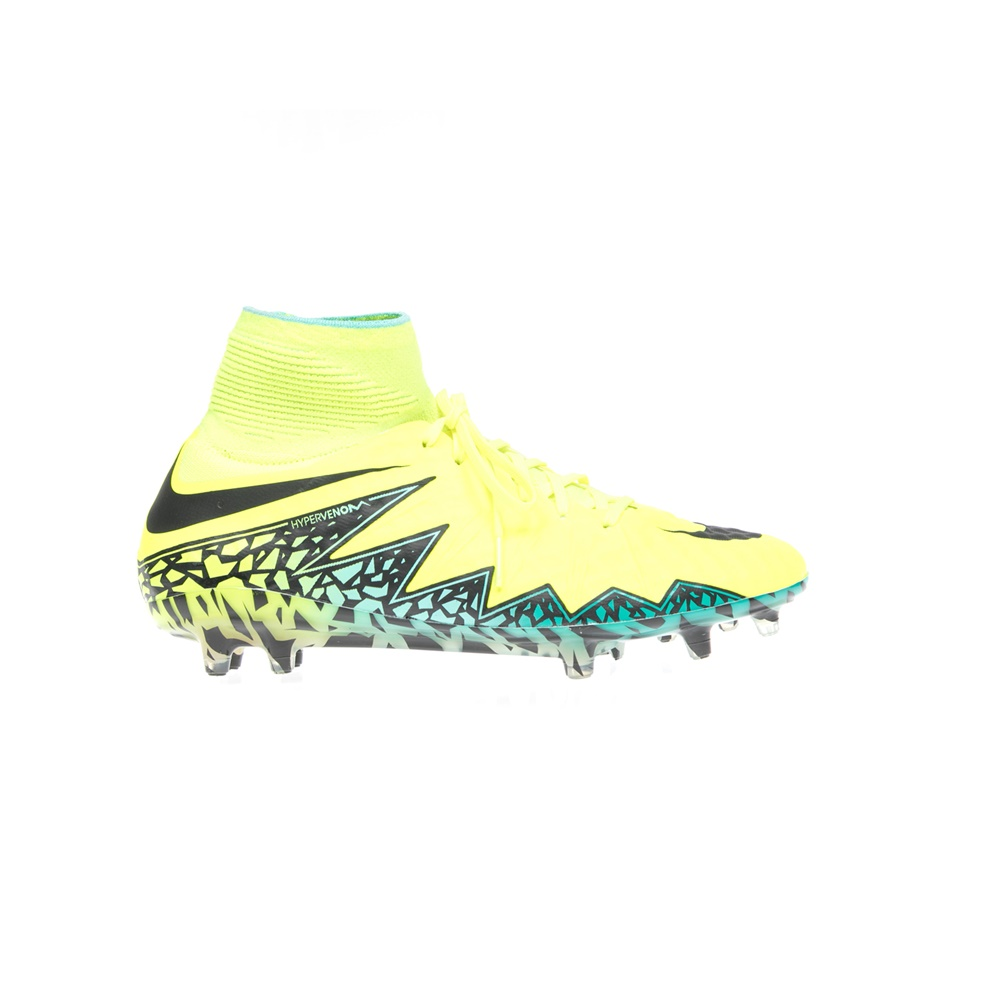 NIKE - Αντρικά αθλητικά παπούτσια NIKE HYPERVENOM PHANTOM II FG κίτρινα ανδρικά παπούτσια αθλητικά football