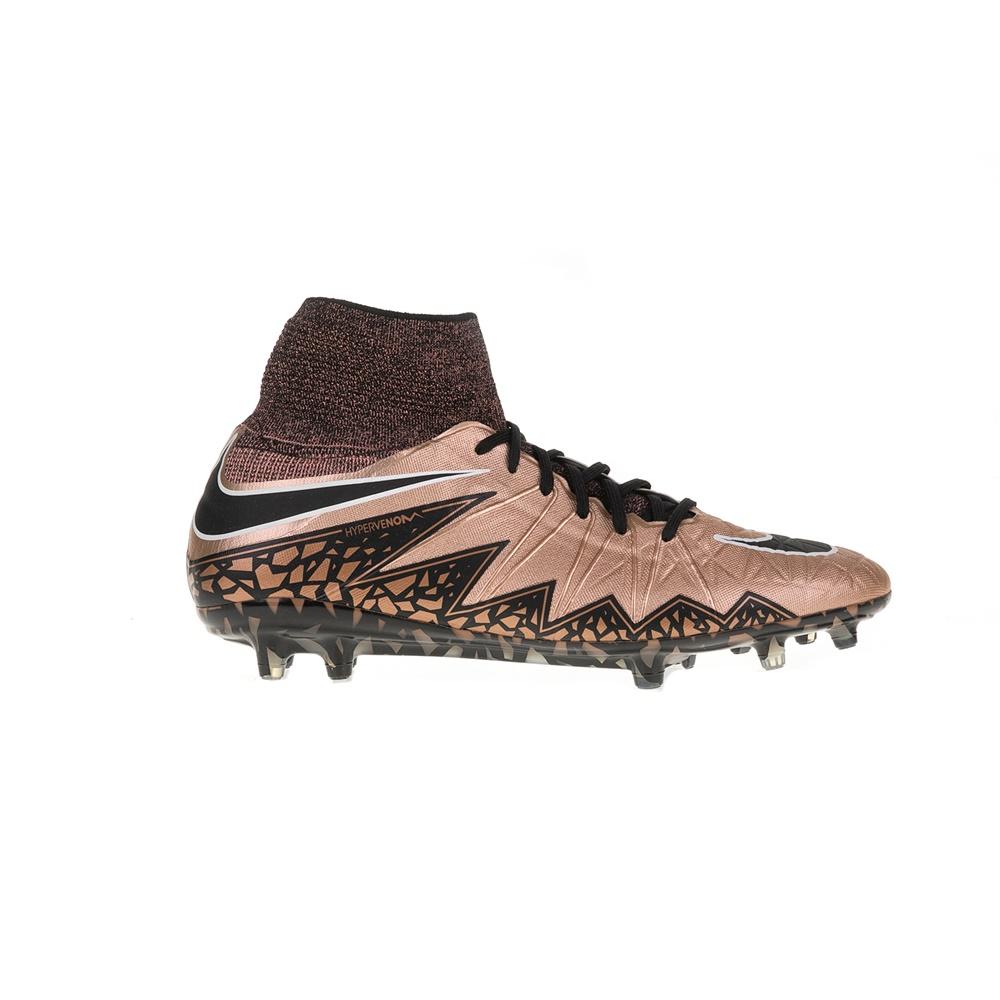 NIKE - Αντρικά αθλητικά παπούτσια HYPERVENOM PHANTOM II TC FG καφέ ανδρικά παπούτσια αθλητικά football