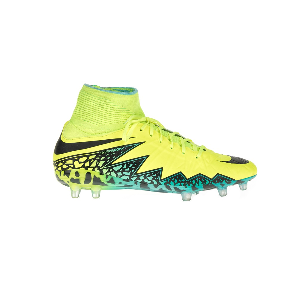 NIKE - Παιδικά αθλητικά παπούτσια NIKE JR HYPERVENOM PHANTOM II FG κίτρινα παιδικά boys παπούτσια αθλητικά