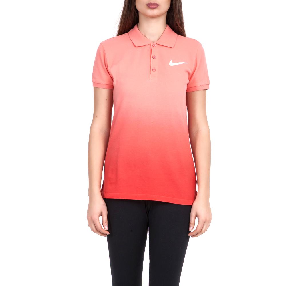 NIKE - Γυναικεία μπλούζα Nike κόκκινη 823774ea646