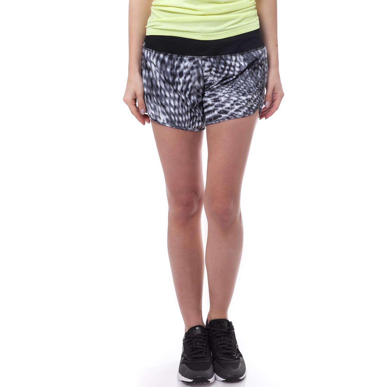 NIKE - Γυναικείο σορτς Nike μαύρο-γκρι γυναικεία ρούχα σορτς βερμούδες αθλητικά
