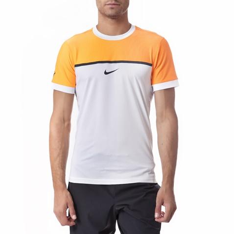 Ανδρική μπλούζα Nike λευκή-πορτοκαλί (1385151.1-c780)  a6b186b7e33
