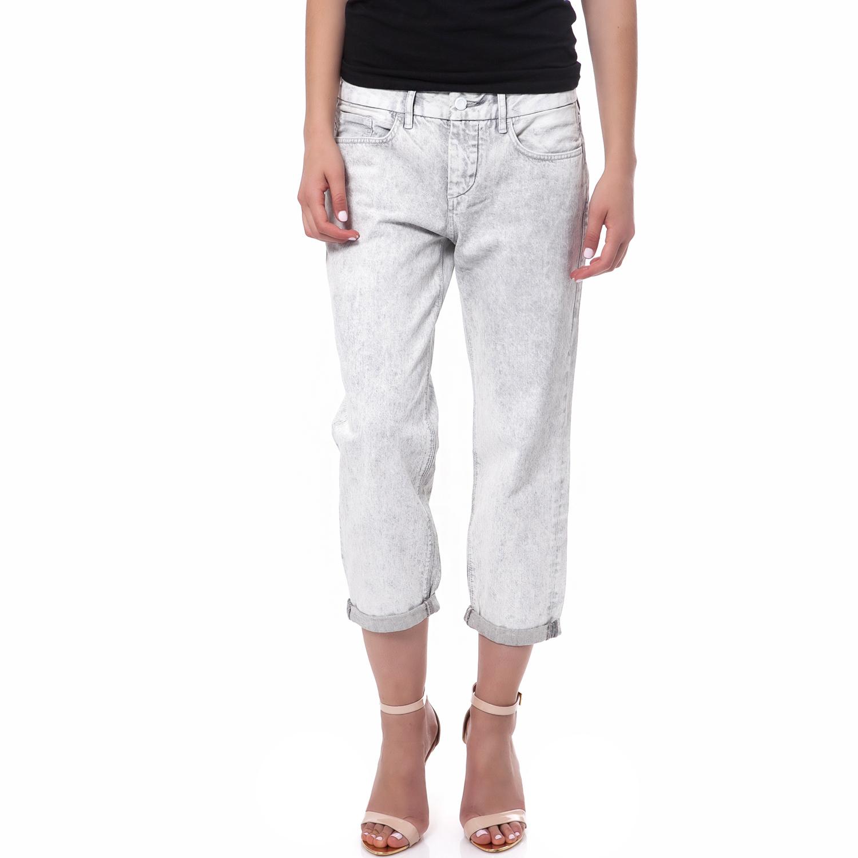 -78% CALVIN KLEIN JEANS – Γυναικείο τζιν παντελόνι Calvin Klein Jeans λευκό 3c8a8211d1c
