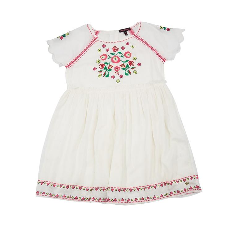Παιδικό φόρεμα Juicy Couture λευκό - JUICY COUTURE KIDS (1395996 ... a3a5222aa0d