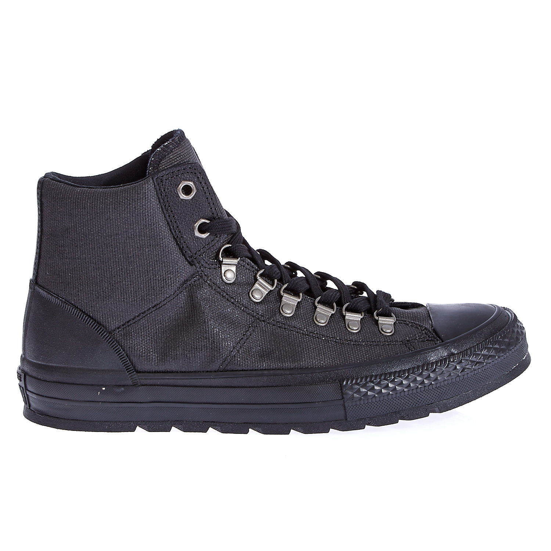 CONVERSE – Unisex παπούτσια Chuck Taylor All Star Street Hi μαύρα