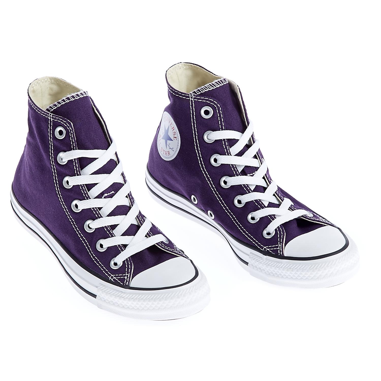 CONVERSE - Unisex παπούτσια Chuck Taylor All Star Hi μωβ d15460e559f