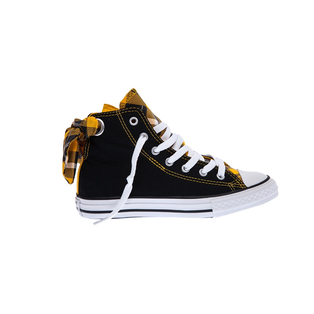 CONVERSE – Παιδικά παπούτσια Chuck Taylor All Star Bow Back μαύρα