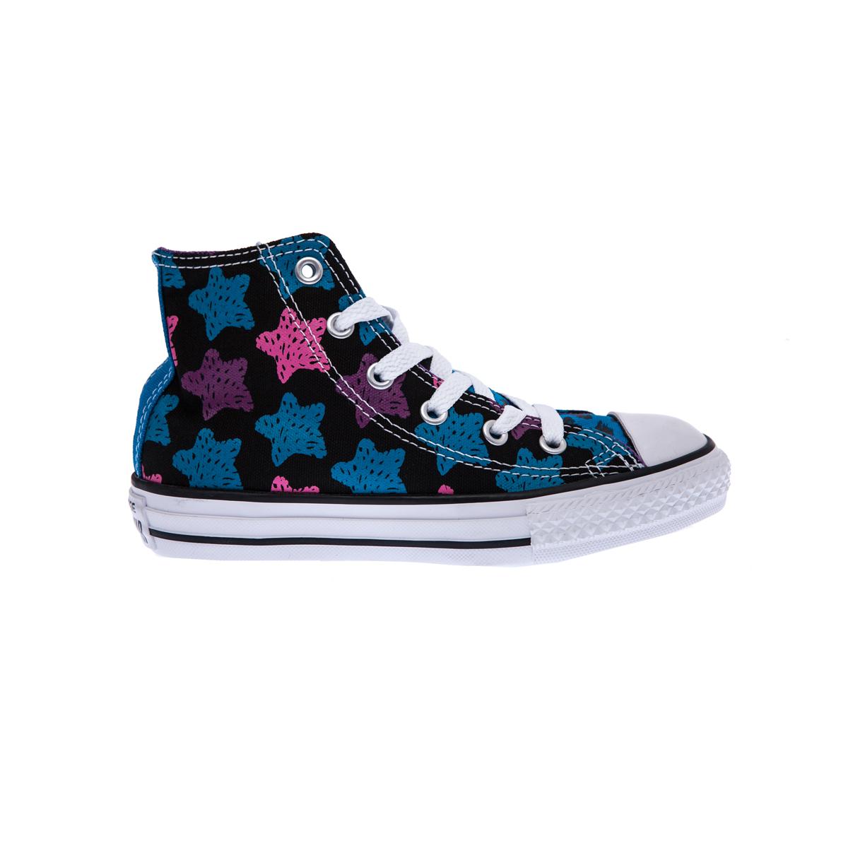 42a139409df Factoryoutlet CONVERSE – Παιδικά παπούτσια Chuck Taylor All Star Hi μαύρα