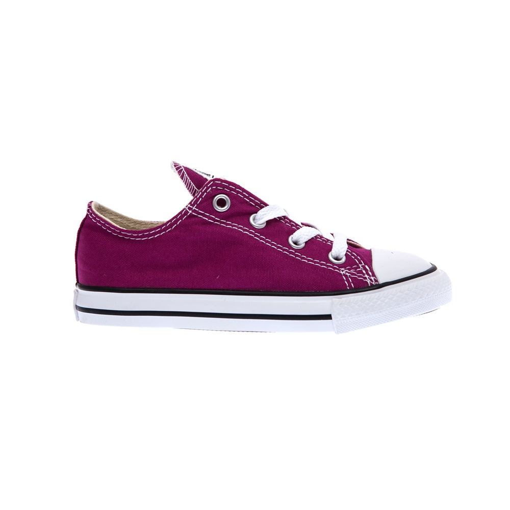CONVERSE - Βρεφικά παπούτσια Chuck Taylor μωβ παιδικά baby παπούτσια sneakers