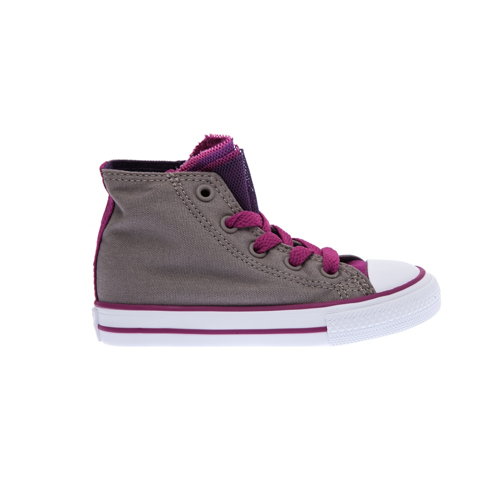 CONVERSE – Βρεφικά παπούτσια Chuck Taylor All Star Party Hi μπεζ