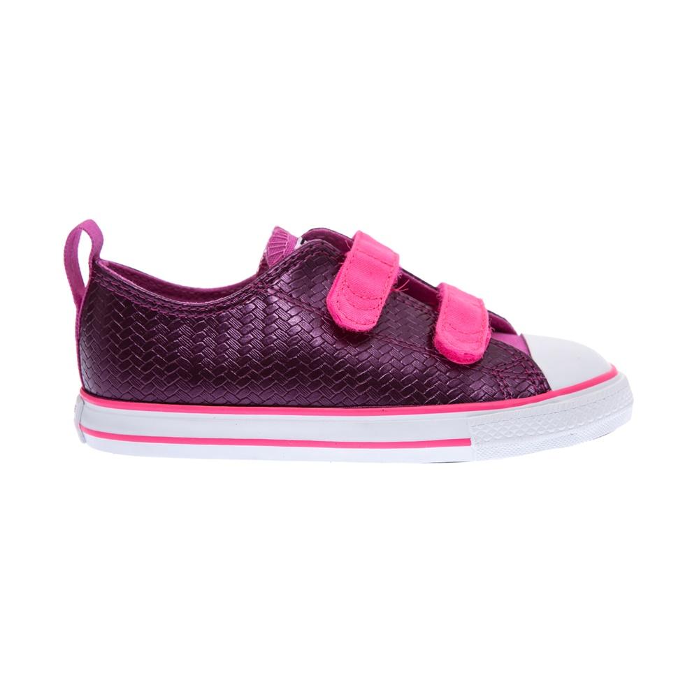 3dffd6797f0 CONVERSE – Βρεφικά παπούτσια Chuck Taylor All Star 2V Ox ροζ. Κατάστημα:  Factoryoutlet