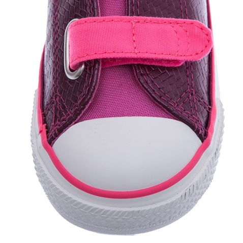 48fd3bec185 Βρεφικά παπούτσια Chuck Taylor All Star 2V Ox ροζ - CONVERSE ...