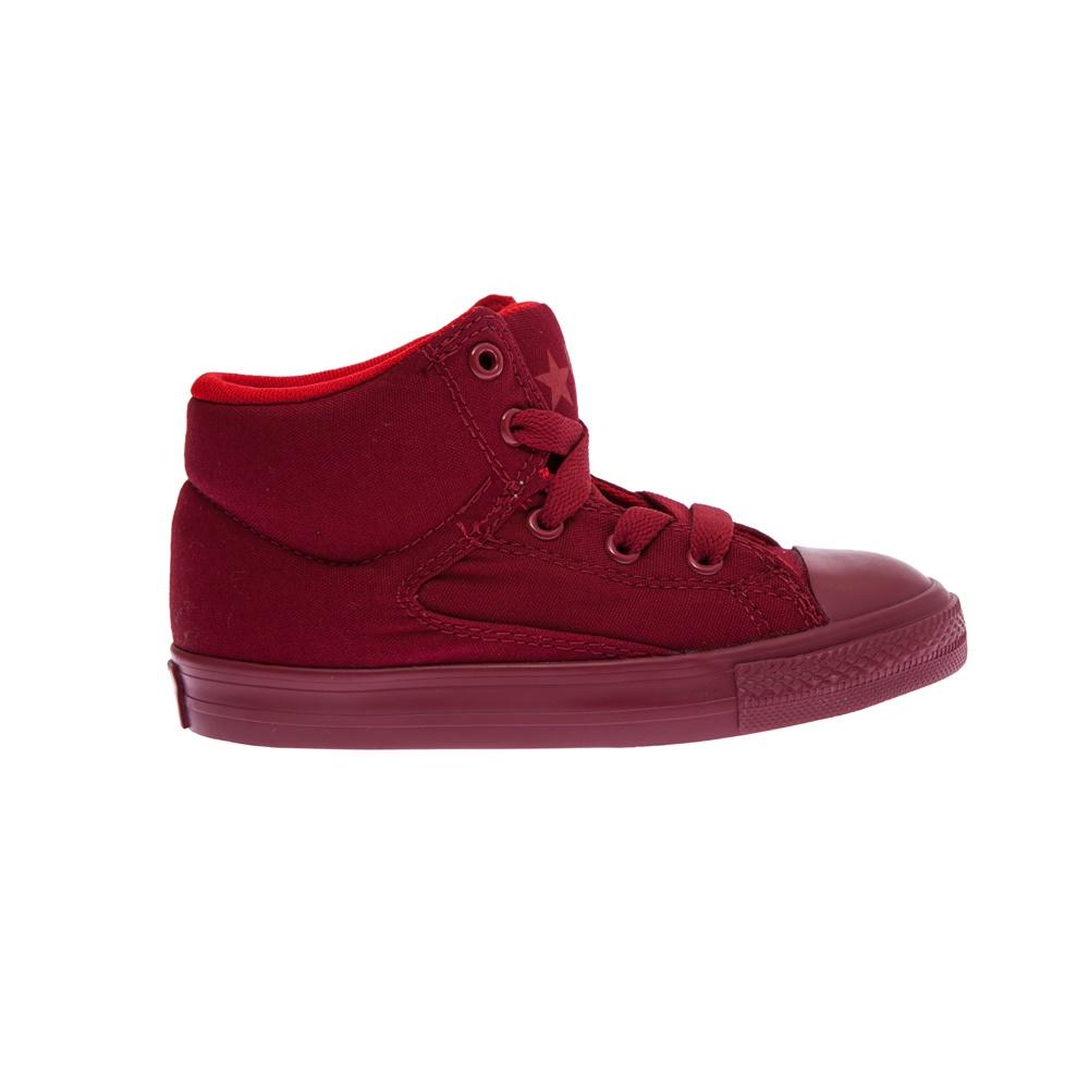 CONVERSE – Βρεφικά παπούτσια Chuck Taylor All Star High Str κόκκινα